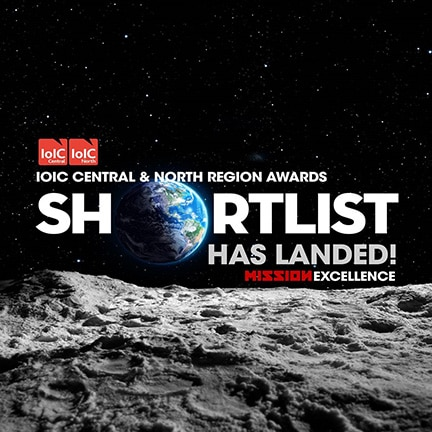 Pictures55 shortlisted for IoIC Award