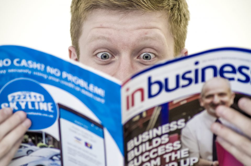 Pictures55 features in inbusiness magazine